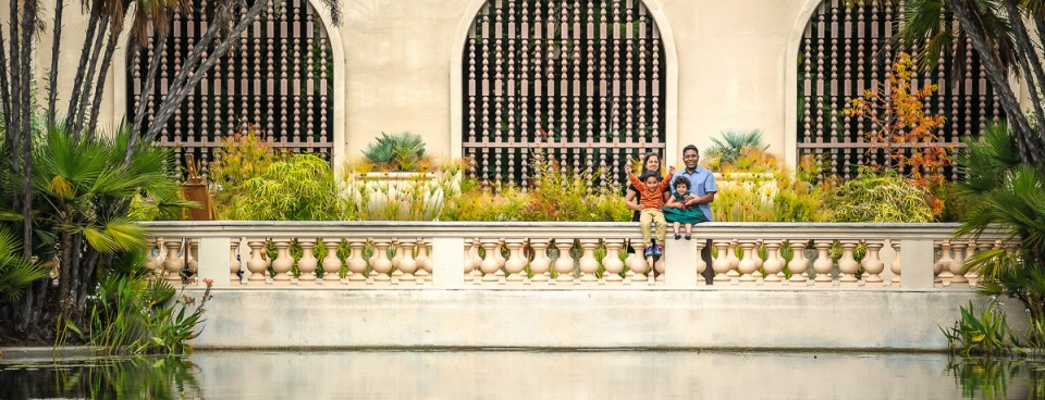 Family Session at Balboa Park